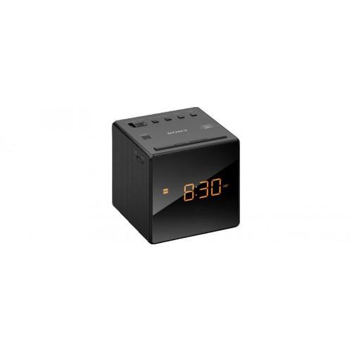 Sony ICF-C1, radiobudík s displayem, černý