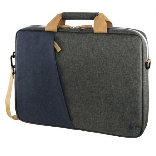 "Hama taška na notebook Florenz, 36 cm (14,1""), šedomodrá"