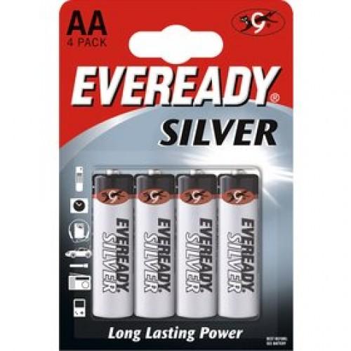 BAT E.SILVER R6/4 4xAA ENERGIZER
