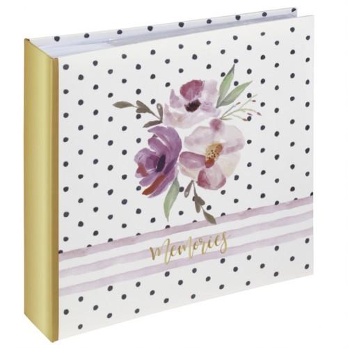 Hama album memo FLOWER MEMORIES 10x15/200, popisové pole