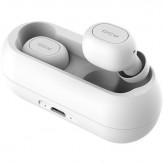 QCY - T1C, zcela bezdrátová špuntová sluchátka s dobíjecím boxem, bílá