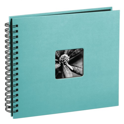 Hama album klasický špirálový FINE ART 28x24 cm, 50 strán, tyrkysový