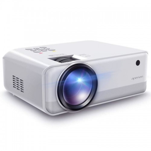 APEMAN Projektor LC550, 1080P, 150 ANSI/4000 LED lumenů, repro