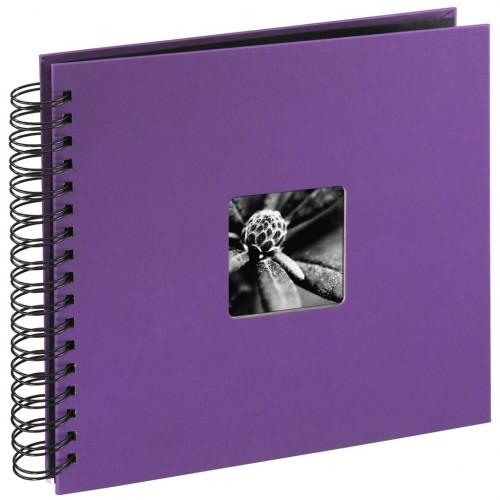 Hama album klasický špirálový FINE ART 28x24 cm, 50 strán, lila